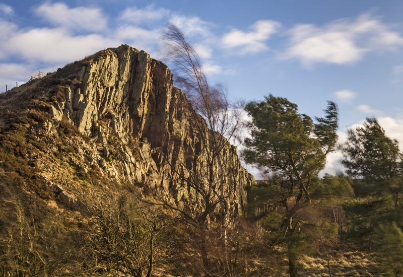 Cawfields Crag