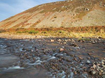 River Breamish and Brough Law