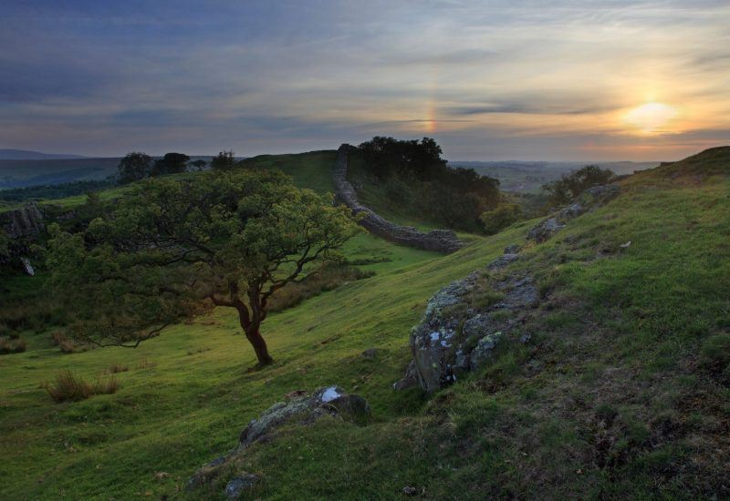 One of the views on the Hadrian's Wall Path National Trail