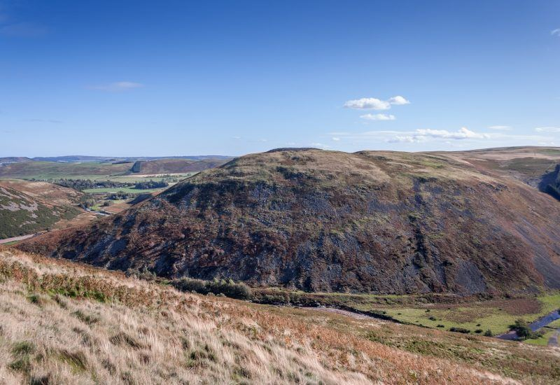 Brough Law hillfort and Ingram Glidders