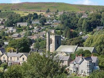 The town of Rothbury