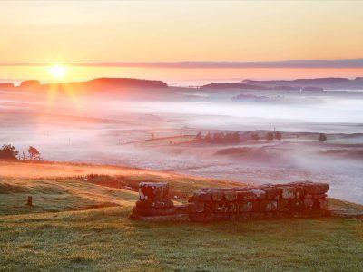The view from Housesteads Roman Fort