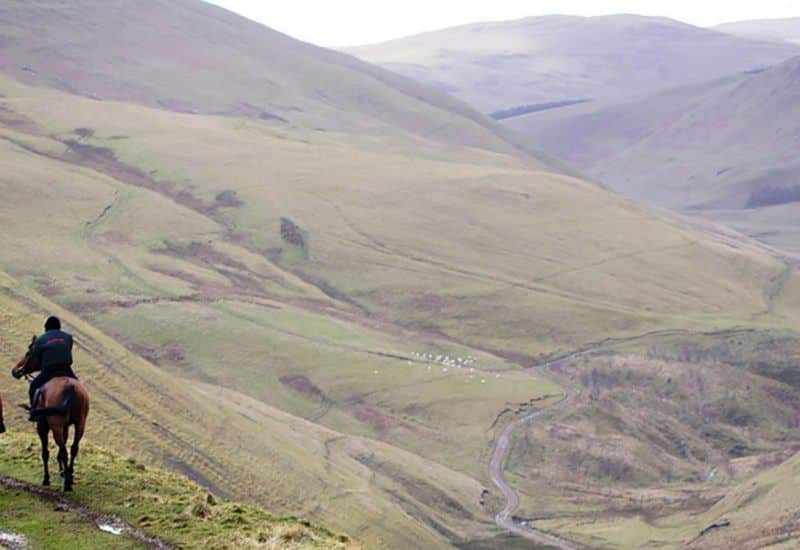 Horse Riding in the Northumberland National Park