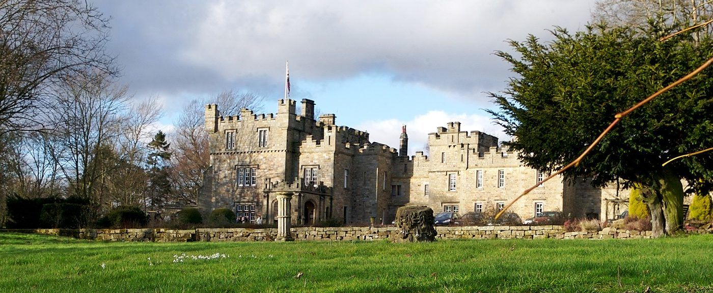 Otternburn Hall and estate in Otterburn, Northumberland