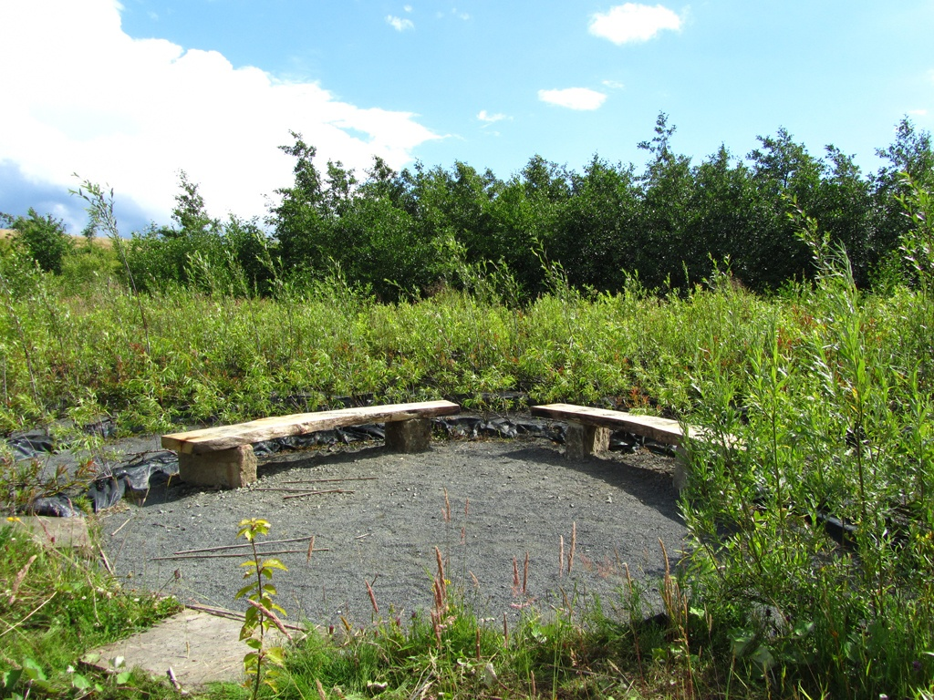 The Peace Labyrinth at Walltown
