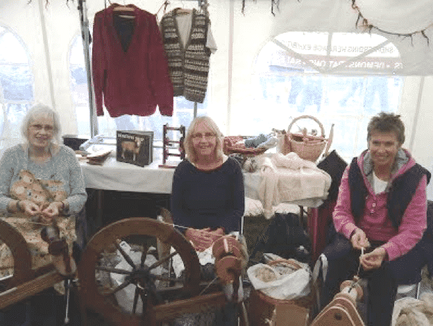 North Northumberland Spinners at Glendale Show