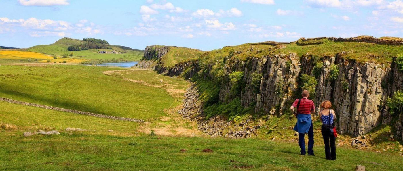 STEEL RIGG and Crag Lough on Hadrian's Wall