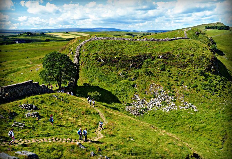 People on a guided walk in the National Park