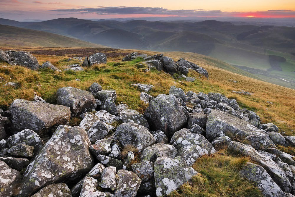 Newton Tors in Northumberland National Park