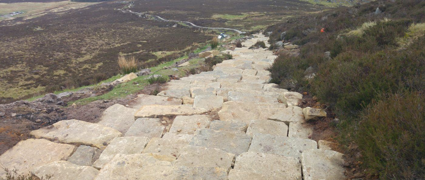 Simonside Path repairs complete