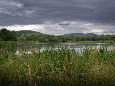 Branton Ponds in the Breamish Valley