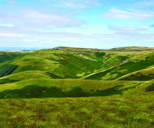 The view above Clennell in Coquetdale